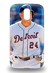 Galaxy S4 Hybrid Tpu 3D PC Case Cover Silicon Bumper MLB Detroit Tigers Miguel Cabrera #24 ( Custom Picture iPhone 6, iPhone 6 PLUS, iPhone 5, iPhone 5S, iPhone 5C, iPhone 4, iPhone 4S,Galaxy S6,Galaxy S5,Galaxy S4,Galaxy S3,Note 3,iPad Mini-Mini 2,iPad Air )