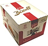 Lotus Biscoff 53613 Cookies, 20 Fresh 2 Packs, 17.6 Oz Box