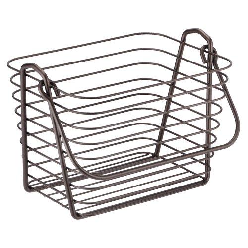 InterDesign Classico Basket, Small, Bronze
