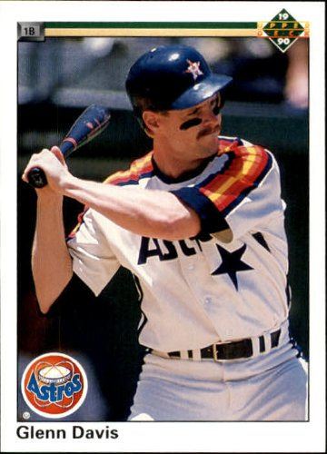 1990 Upper Deck Baseball Card #245 Glenn Davis Mint