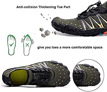 Mens Womens Water Quick Dry Barefoot Diving Pool Beach Walking Yoga Solid Sport Running Antiskid Footwear Climbing Hiking Wear Resistant Comfy Jogging Fitness Outdoors Shoes