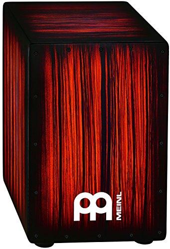Meinl Percussion HCAJ2RTS Headliner Series String Cajon, Rojo Tiger Stripe by Meinl Percussion