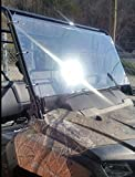 Honda Pioneer 700 Clear Full Front Windshield 1/4 Thick Polycarbonate!