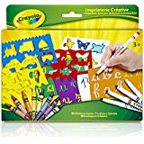 Crayola 10527 - Kit de Loisir Créatif - Imprimerie Créative