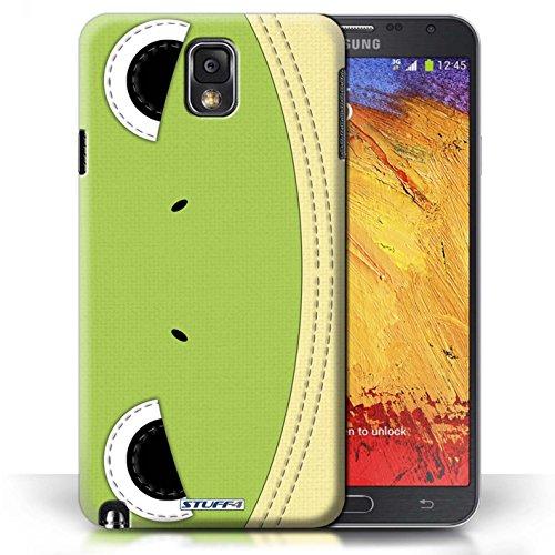 Coque de Stuff4 / Coque pour Samsung Galaxy Note 3 / Grenouille Design / Cousu des Animaux Effet Collection