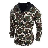 Sharemen Camouflage Hoodies Men Slim Fit Autumn Winter Jackets