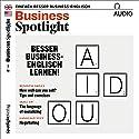 Business Spotlight Audio. 3/2018: Business-Englisch lernen - Besser Business-Englisch lernen! Hörbuch von div. Gesprochen von: div.