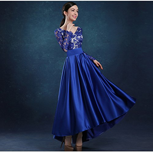 Vimans Nwvym8n0o 0dabwqn Trapèze Robe Bleu 46 Femme vmNnw80