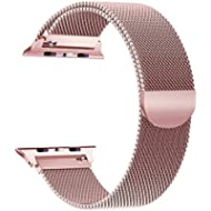 yamen Compatible for Apple Watch Band 38mm 40mm Milanese Loop for iwatch Band 42mm 44mm Series 2...