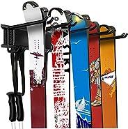 WALMANN Garage Storage Organization System Ski Wall Rack 10 Pairs of Skis Mount Hanger Home Shed and Garage Sn