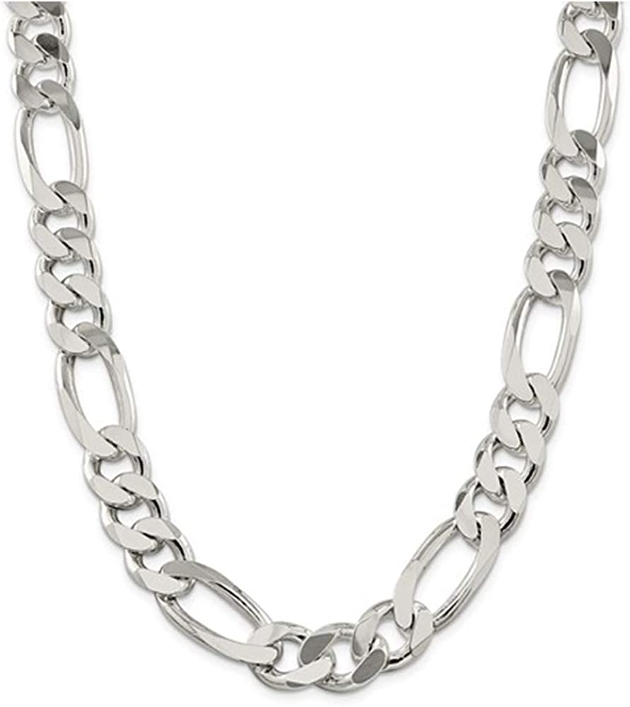 "10/"" Rhodium Plated Sterling Silver 1.2mm Cable Link Anklet w// Flip Flop Charm"