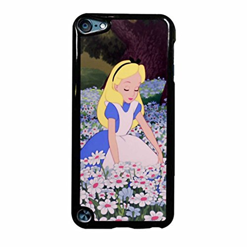 Alice In Garden Case / Color White Plastic / Device iPod Touch 5