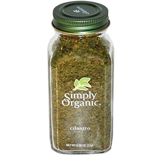 Simply Organic, Cilantro, 0.78 oz(Pack of 4)