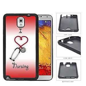 I Heart Nursing Rubber Silicone TPU Cell Phone Case Samsung Galaxy Note 3 III N9000 N9002 N9005