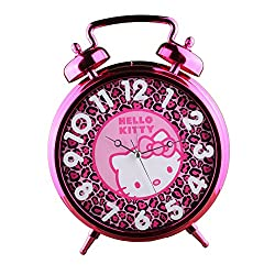 Hello Kitty Jumbo Twin Bell Alarm Clock - Girls