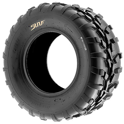 SunF 25x11-10 (25x11x10) ATV/UTV Off-Road Tire, 6PR, Directional Knobby Tread | A010 by SunF (Image #4)