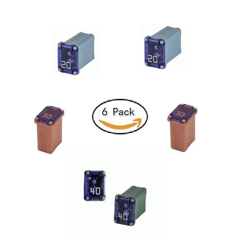 FMM Fuses 20Amp 30Amp 40Amp (6 PS)