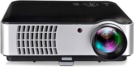 Mini proyector, HD 1080P y 150 Pantalla Compatible, Proyector ...