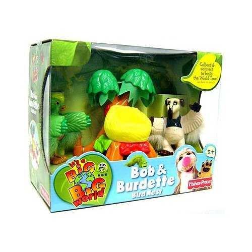 Its A Big Big World Toy World Tree Mini Figure 2-Pack Bob /& Burdette Fisher Price
