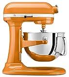 orange appliances kitchen - KitchenAid KP26M1XTG 6 Qt. Professional 600 Series Bowl-Lift Stand Mixer - Tangerine