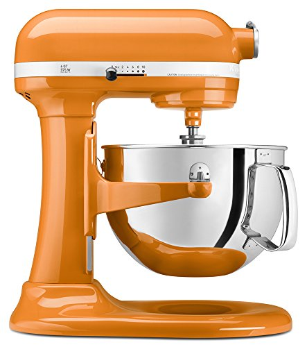 KitchenAid Professional 600 Series KP26M1XER Bowl-Lift Stand Mixer, 6 Quart, Tangerine