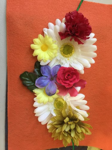 Handmade Snapchat Flower Crown Filter Look Alike for (Team Snapchat Halloween)