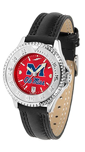 Rebels Competitor Watch - Mississippi Rebels Competitor AnoChrome Women's Watch