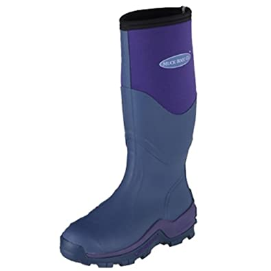 Amazon.com | Muck Boots Greta Womens Wellies UK 8 Violet | Rain