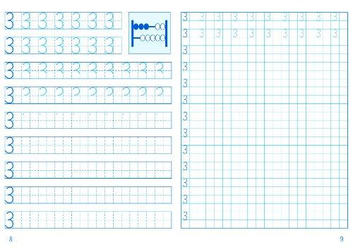 Elbi Zahlenübungsheft 1 Bis 10 Zahlen Schreiben Lernen In Der