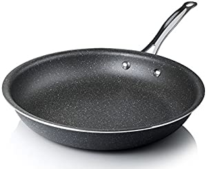 Graniterock Non-stick, No-warp, Mineral-enforced Frying Pans PFOA-Free As Seen On TV (11-inch)