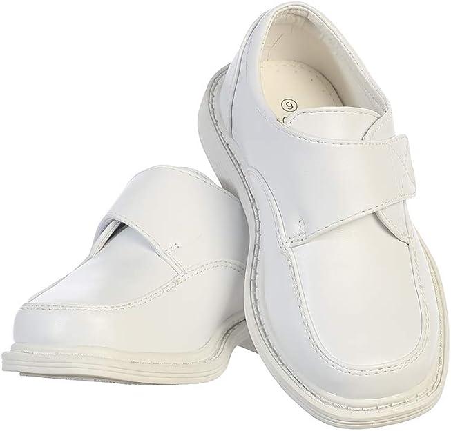 Lito Childrens Wear Boys Dress Shoe Formal Matte Shoe Wedding Lace Up Communion Graduation