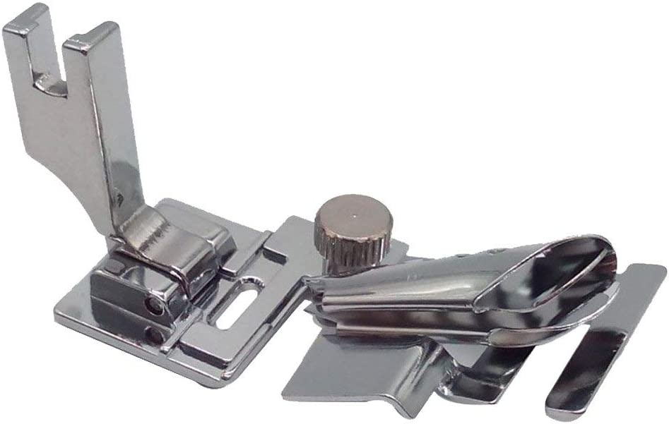 ROLL HEM  FOOT HIGH SHANK FITS JANOME 1600P BROTHER PQ1500 AND OTHER MAKES