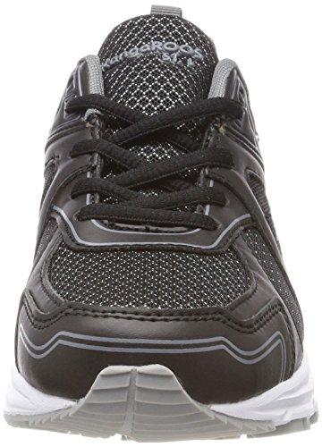 Kr KangaROOS Black Run Mixte Baskets 5 Adulte 5001 Noir Jet 1CqdrCw