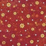 KAREN FOSTER 64281 Summer Flowers Design Printed Paper Pack, 25 Sheets