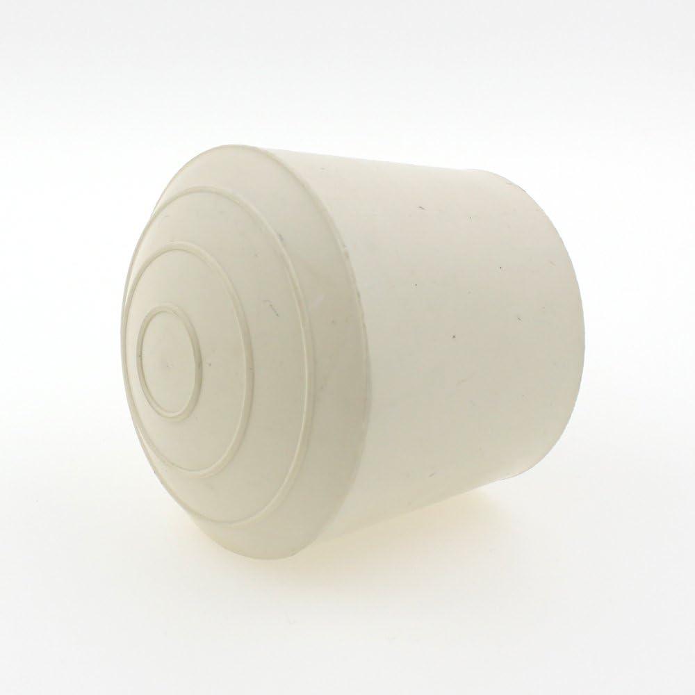 Lifeswonderful/® 4 St/ück 20 mm Wei/ß Gummi-Schutzkappen f/ür M/öbel - vielseitig verwendbar Tische, Stuhlbeine