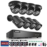 ANNKE H.264+ 8CH Security Camera System 1080P Lite Surveillance DVR