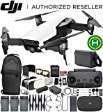 DJI Mavic Air Drone Quadcopter FLY MORE COMBO (Arctic White) EVERYTHING YOU NEED Bundle
