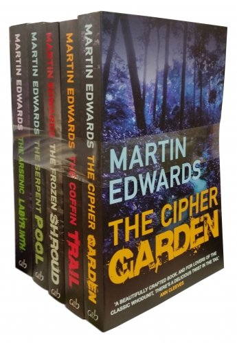 Lake District Mysteries 5 Books Collection Set By Martin Edwards (The Cipher Garden, Coffin Trail, Frozen Shroud, Serpent Pool, Arsenic Labyrinth) pdf