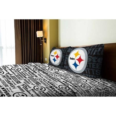 NFL Anthem Pittsburgh Steelers Bedding Sheet Set: Full by NFL