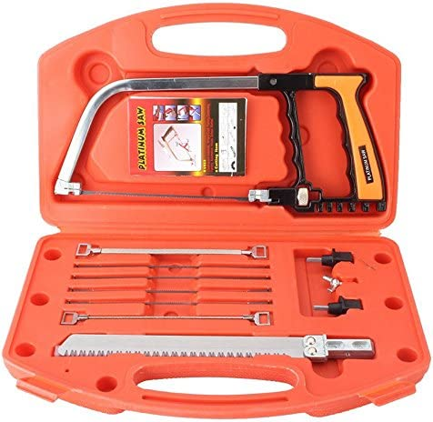 Leadingstar Hand Saw Kits, Multi-Purpose 14-in-1 Hacksaw, Wood Saw, Woodworking Tools, Bow S 51Vo0BHgsWL