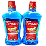 Colgate Mouthwash Total Advanced Pro-Shield 2Pk(16.9 oz * 2) Peppermint
