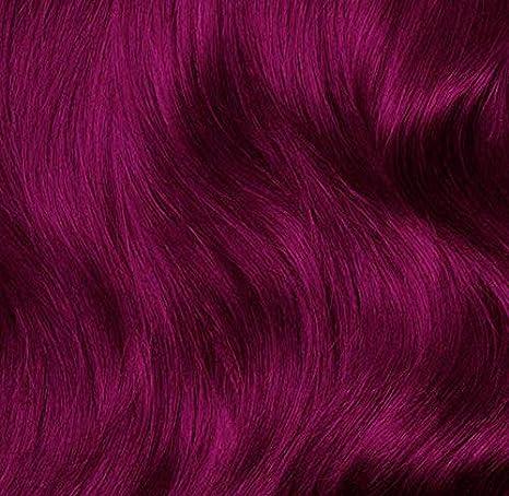 Fuchsia Pink, tinte para el cabello semi permanente rosa - 118 ml - Lunar Tides