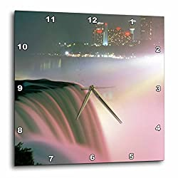 3dRose dpp_93117_3 New York, Niagara Falls. American Waterfalls-US33 MGI0096-Mark Gibson-Wall Clock, 15 by 15-Inch