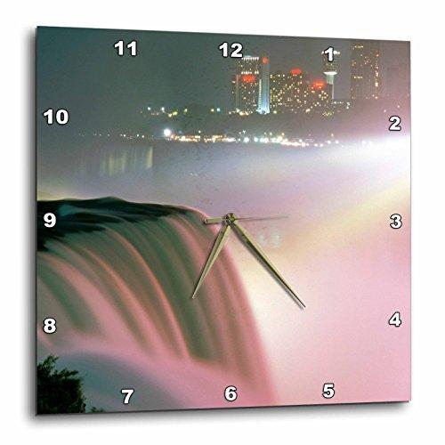 3dRose dpp_93117_1 New York, Niagara Falls. American Waterfalls-Us33 Mgi0096-Mark Gibson-Wall Clock, 10 by - New Outlet Falls Niagara York