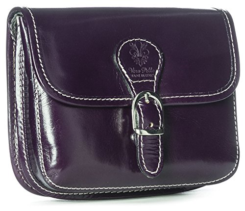 Cross Leather Mini Small Messenger Handbag Purple Travel Purse Bag Genuine Big Womens Shop Size Body wSXgnqI