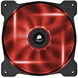 corsair 140mm fan - Corsair Air Series AF140 LED Quiet Edition High Airflow Fan - Red