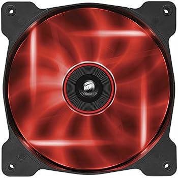 Corsair Air Series AF140 LED Quiet Edition High Airflow Fan - Red