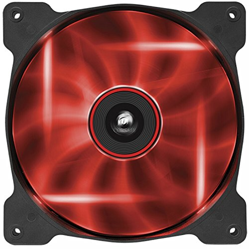 Corsair Air Series AF140 LED Quiet Edition High Airflow Fan - Red by Corsair
