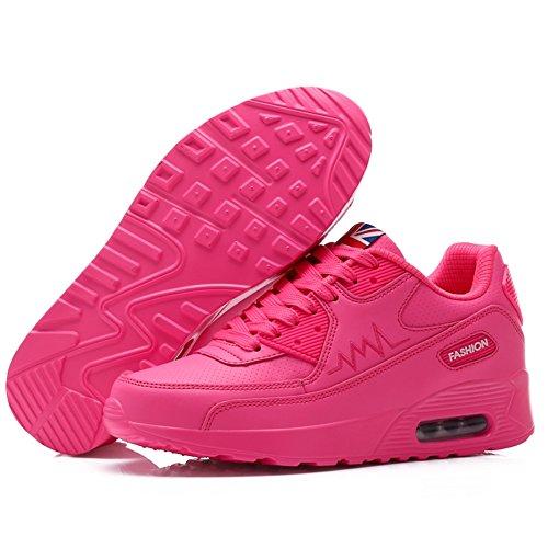 Zapatillas Ocasionales Mujeres Zapatos Estudiantes De De Zapatos Las De Deporte Segundo Cojín SHINIK Deporte Gimnasia De Para Zapatos Aire Zapatos De De Cuero dWACqxx0w8