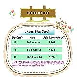 BENHERO Newborn Baby Boys Girls Soft Soled